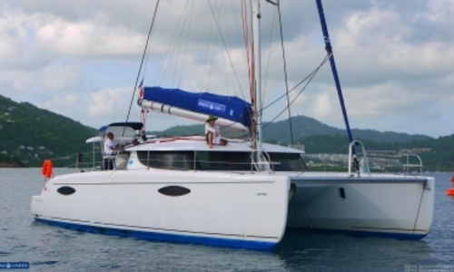 Image of Fountaine Pajot Orana 44 for sale in Trinidad and Tobago for €265,000 (£236,154) TORTOLA, Trinidad and Tobago