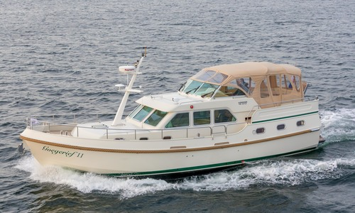 """Image of Linssen Grand Sturdy 430 AC MKII """"Stabilizers"""" for sale in Netherlands for €395,000 (£345,872) In verkoophaven, Netherlands"""