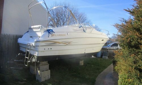Image of Larson 254 Cabrio for sale in United States of America for $12,900 (£9,295) Patchogue, New York, United States of America