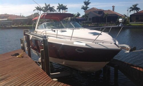 Image of Rinker Fiesta Vee 300 for sale in United States of America for $48,300 (£34,553) Cape Coral, Florida, United States of America