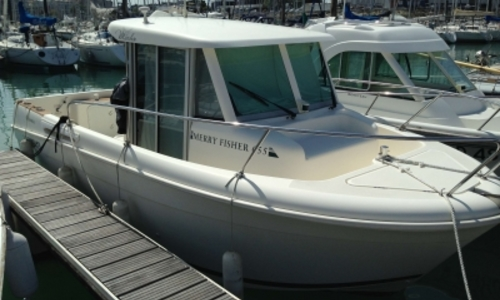 Image of Jeanneau Merry Fisher 655 Marlin for sale in France for €21,900 (£19,337) LA ROCHELLE, France