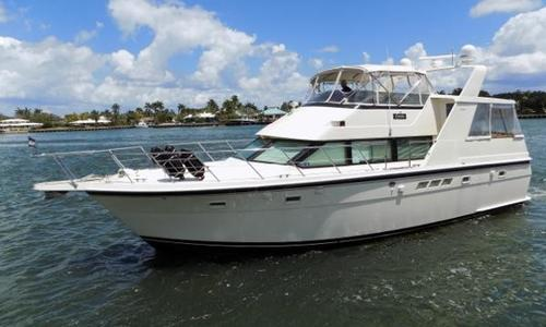 Image of Hatteras 48 Motor Yacht for sale in United States of America for $199,000 (£141,859) Fort Lauderdale, FL, United States of America