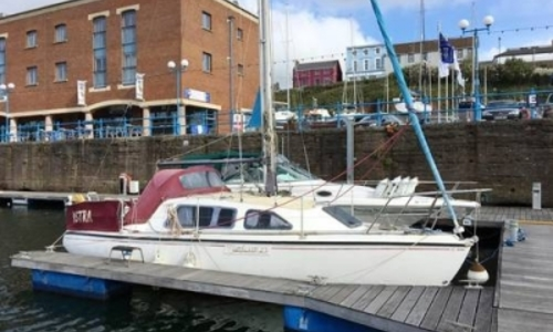 Image of SUN YACHTS SUN 27 SUNFLAIR for sale in United Kingdom for £6,500 MILFORD HAVEN, United Kingdom