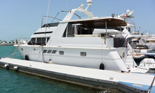 Image of Hatteras 52 Cockpit Motor Yacht for sale in United Arab Emirates for $218,000 (£162,642) Abu Dhabi, , United Arab Emirates