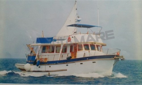 Image of Cheoy Lee 48 Trawler for sale in Italy for €65,000 (£58,222) Sicilia, Italy
