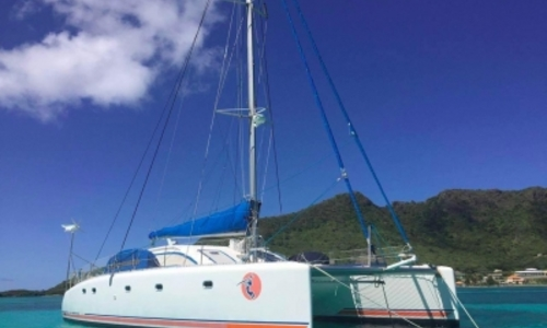 Image of Nautitech 475 for sale in Saint Martin for €199,000 (£174,650) Saint Martin