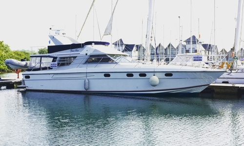 Image of Fairline 50 Flybridge for sale in United Kingdom for P.O.A. ISLE OF WIGHT, United Kingdom