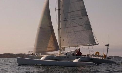 Image of Technologie Marine Cruiser-Racer Trimaran for sale in France for €149,000 (£131,562) Brittany, France