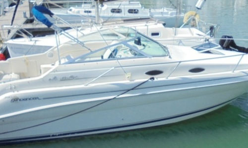 Image of Sea Ray 240 Sundancer for sale in United Kingdom for £19,950 Hamble River, United Kingdom