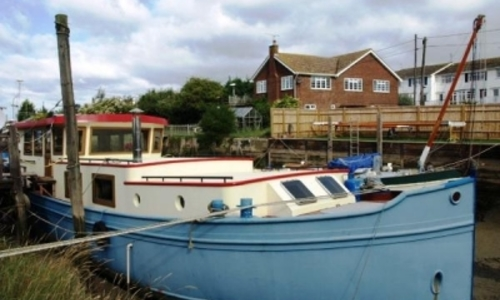 Image of DUTCH BARGE LUXE 60 STEEL for sale in United Kingdom for £159,950 GILLINGHAM, United Kingdom