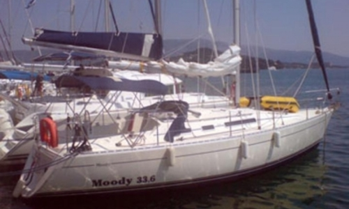 Image of Moody 336 for sale in Greece for €42,000 (£37,102) GOUVIA, Greece