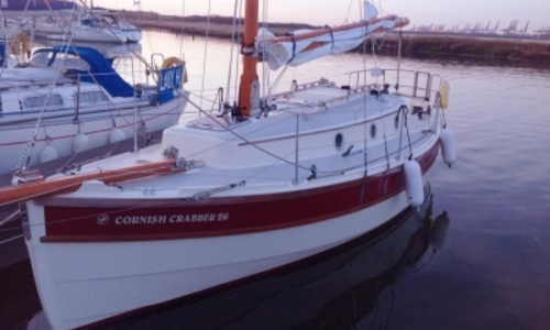 Image of Cornish Crabber 26 for sale in United Kingdom for £64,950 LEVINGTON, United Kingdom