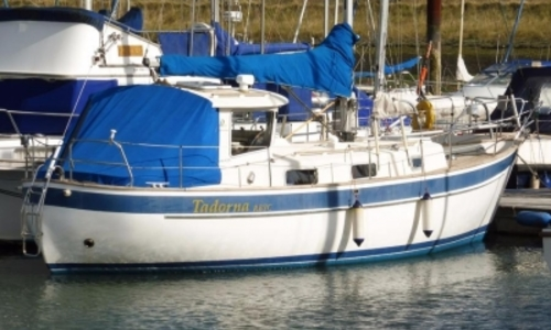 Image of Hallberg-Rassy 94 Kutter for sale in United Kingdom for £34,995 BURNHAM ON CROUCH, United Kingdom