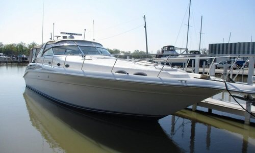 Image of Sea Ray 450 Sundancer for sale in United States of America for $119,900 (£98,683) Curtice, Ohio, United States of America