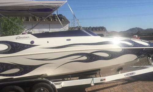 Image of Genesis Apache Mid Cabin Open Bow for sale in United States of America for $45,000 (£32,193) Peoria, Arizona, United States of America