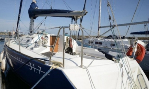 Image of Beneteau First 31.7 for sale in Portugal for €45,000 (£39,318) NAZARE, Portugal