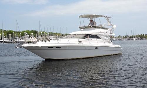 Image of Sea Ray 400 Sedan Bridge for sale in United States of America for $115,000 (£85,647) Miami, FL, United States of America
