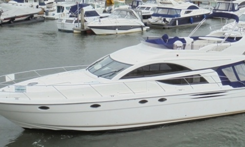 Image of Fairline Phantom 50 for sale in United Kingdom for £299,950 Hamble River Boat Yard, United Kingdom