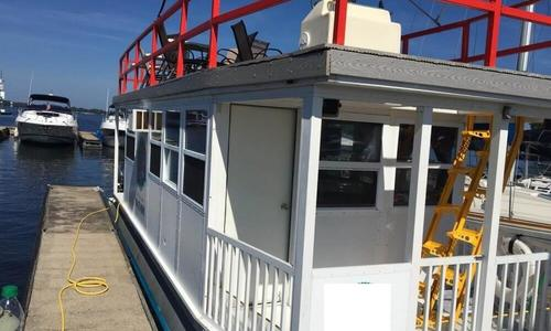 Image of Custom 31FT 4-Pontoon Houseboat for sale in United States of America for $35,900 (£25,589) Terrell, North Carolina, United States of America