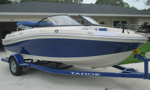 Image of Tahoe 450 TF for sale in United States of America for $25,700 (£20,147) Bradenton, Florida, United States of America