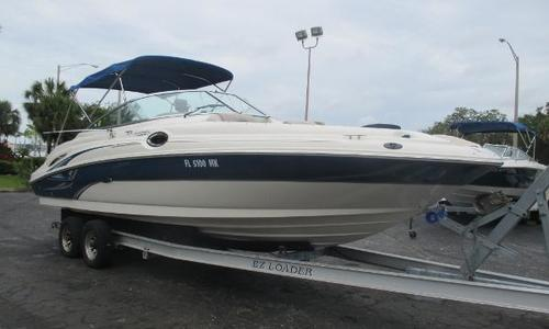 Image of Sea Ray 270 Sundeck for sale in United States of America for $24,999 (£18,919) Palmetto, FL, United States of America