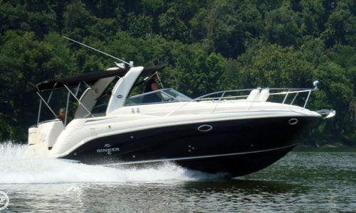 Image of Rinker Fiesta Vee 312 for sale in United States of America for $55,400 (£39,613) Golconda, Illinois, United States of America