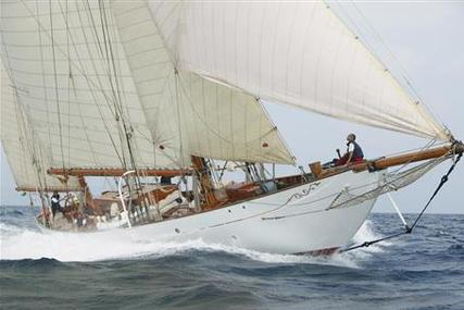 Alfred Mylne Gaff Ketch for sale in France for €3,500,000 (£3,099,128)