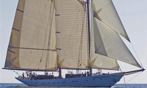 Image of Cox & Stevens Gaff Schooner for sale in Italy for €6,500,000 (£5,825,417) Italy
