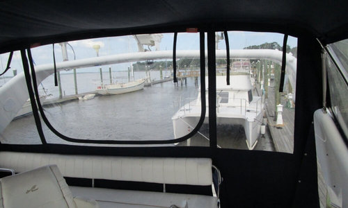 Image of Sea Ray 440 Express Bridge for sale in United States of America for $79,900 (£62,908) Richmond Hill, Georgia, United States of America