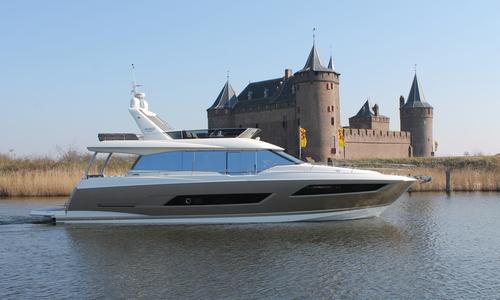 Image of Prestige 680 for sale in Netherlands for €1,685,000 (£1,475,430) Muiden, Netherlands