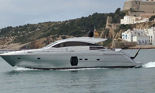 Image of Pershing 64 for sale in Netherlands for €1,145,000 (£1,013,696) Ibiza, Netherlands