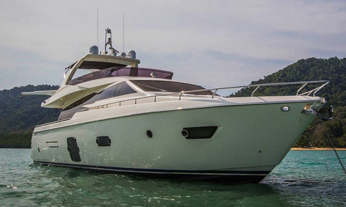Image of Ferretti 720 for sale in Netherlands for €2,385,000 (£2,099,324) Netherlands