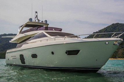 Ferretti 720 for sale in Netherlands for €1,895,000 (£1,665,422)