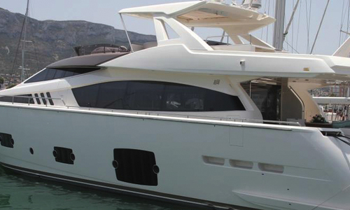 Image of Ferretti 800 HT for sale in Netherlands for €2,950,000 (£2,604,742) Netherlands