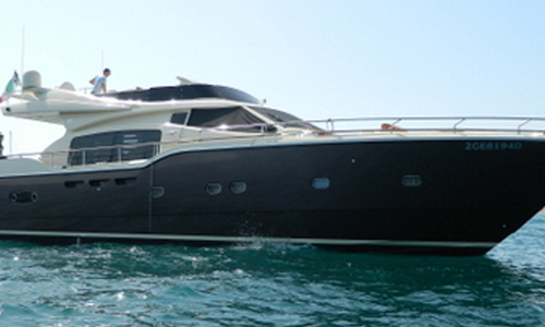Image of Ferretti 690 Altura for sale in Netherlands for €795,000 (£703,148) Netherlands