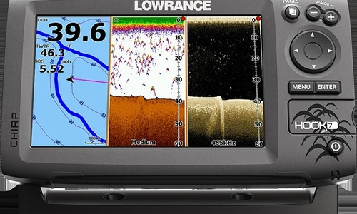 Image of Lowrance Hook 7 GPS/Fisfinder with Navionics Gold Chart (Small) for sale in United Kingdom for £600 United Kingdom