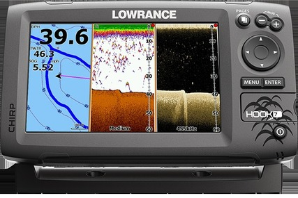 Lowrance Hook 7 GPS/Fisfinder with Navionics Gold Chart (Small) for sale in United Kingdom for £600