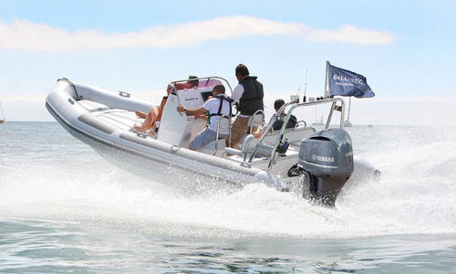 Image of Ballistic Ex Demo  6.5M RIB with Yamaha F200HP Outboard Engine and Trailer for sale in United Kingdom for £49,995 South East, Portsmouth, United Kingdom