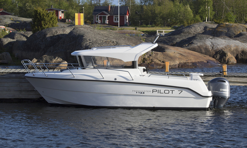 Image of Finnmaster New  Pilot 7 Fishing Boat with a Yamaha Outboard Engine for sale in United Kingdom for £52,277 South East, Portsmouth, United Kingdom