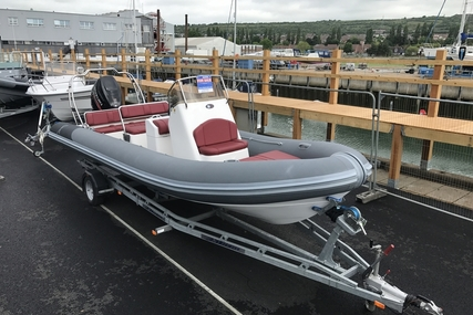 Rib-X Used  7.6M RIB with Suzuki DF250HP Outboard Engine and Trailer for sale in United Kingdom for £44,995