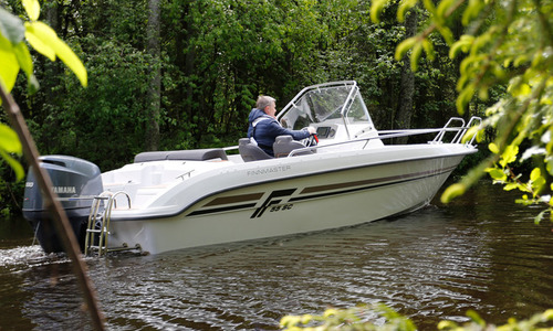Image of Finnmaster New  55SC Fishing Boat with Yamaha Outboard Engine for sale in United Kingdom for £27,060 South East, United Kingdom