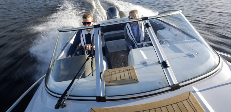 Finnmaster New 62 Day Cruiser Boat with a Yamaha Outboard