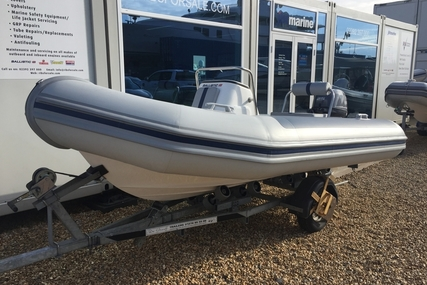 Ballistic Ex Demo  4.3M RIB with Yamaha F25HP Outboard Engine and Trailer for sale in United Kingdom for £10,995