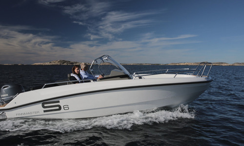 Image of Finnmaster New  S6 Console Boat with a Yamaha Outboard Engine for sale in United Kingdom for £36,338 South East, Portsmouth, United Kingdom
