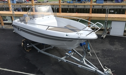Image of Finnmaster Discounted Ex Demo  55 SC Boat with Yamaha F70HP Outboard Engine for sale in United Kingdom for £21,995 South East, United Kingdom