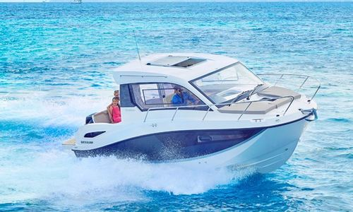 Image of Quicksilver 755 Weekend for sale in United Kingdom for £40,730 South East, Southampton, United Kingdom