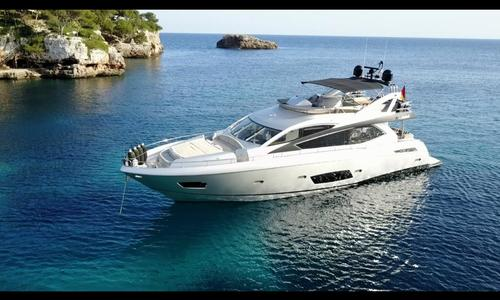 Image of Sunseeker Manhattan 73 for sale in Spain for €1,749,000 (£1,530,813) Portopetro, Spain