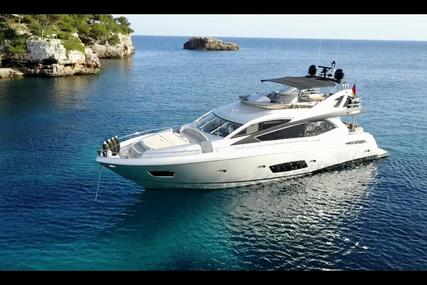 Sunseeker Manhattan 73 for sale in Spain for €1,749,000 (£1,537,109)