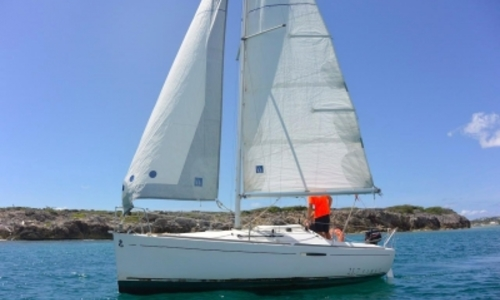Image of Beneteau First 21.7 S for sale in Saint Martin for €20,000 (£17,688) Saint Martin