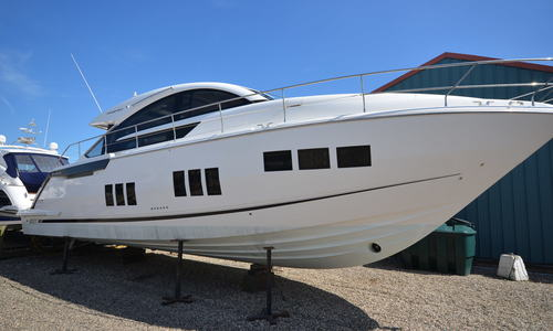 Image of Fairline Targa 50 Gran Turismo for sale in United Kingdom for £445,000 Boats.co. HQ, Essex Marina, United Kingdom